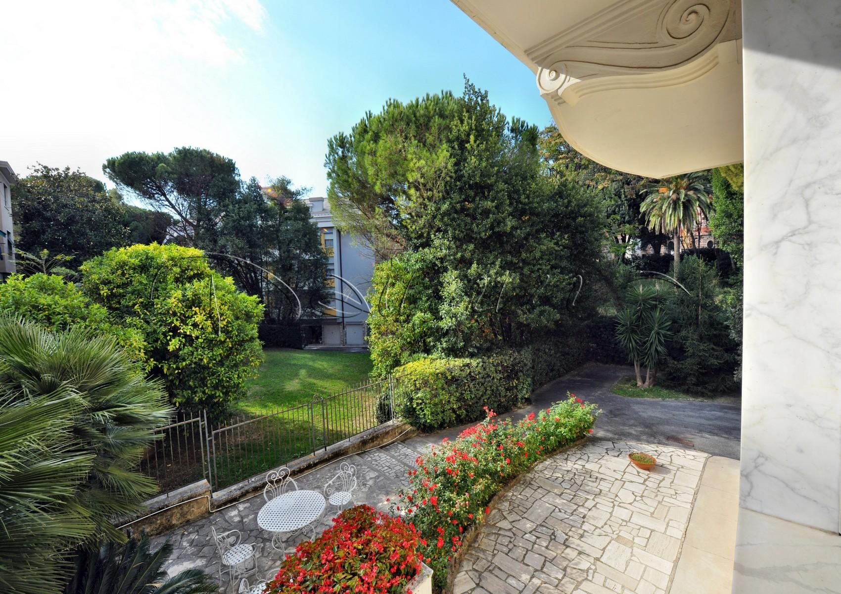 8764 vendita appartamento di pregio genova albaro via siena giardino condominiale daimm - Appartamento con giardino genova ...